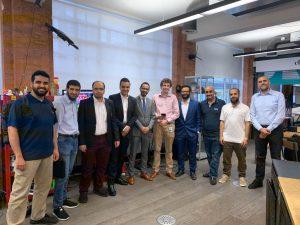 زيارة مركز شركة ديلويت للذكاء الصناعي في لندن - ناهض الحربي